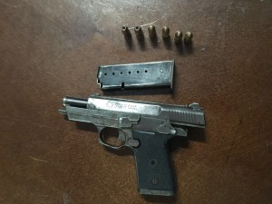 Illegal Firearm Seized by Police Satur 16 Jan 2015