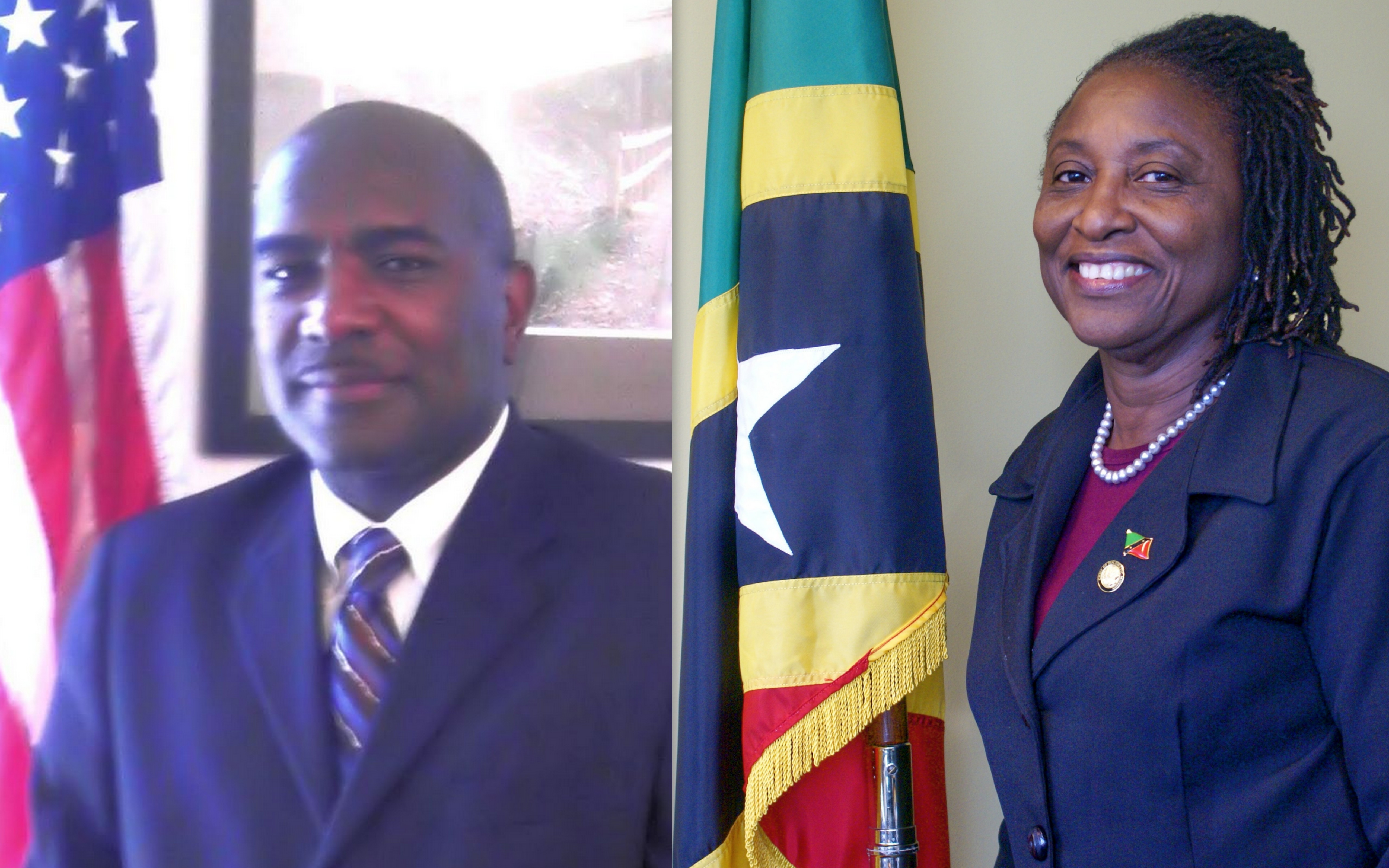 Ken Clifton and Amb Thelma Phillip-Browne