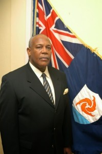 Chief Minister of ANguilla Victor Banks