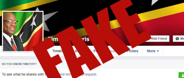 STATEMENT ON THE FAKE FACEBOOK ACCOUNT THAT IS APPROPRIATING PM